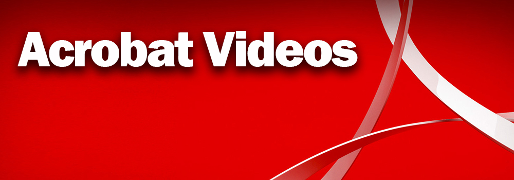 Acrobat Training Videos