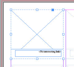 InDesign Selected image placeholder