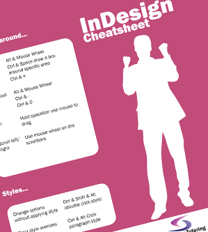 InDesign Cheatsheet