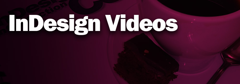 InDesign Video Training