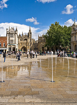 Microsoft Expression Web Training Course Intermediate training Peterborough - Cathedral Square