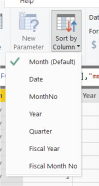 Sort By Column in PowerBI