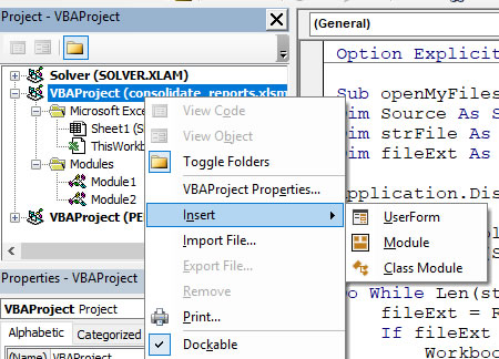 VBA Code to Consolidate Data from Multiple Sheets