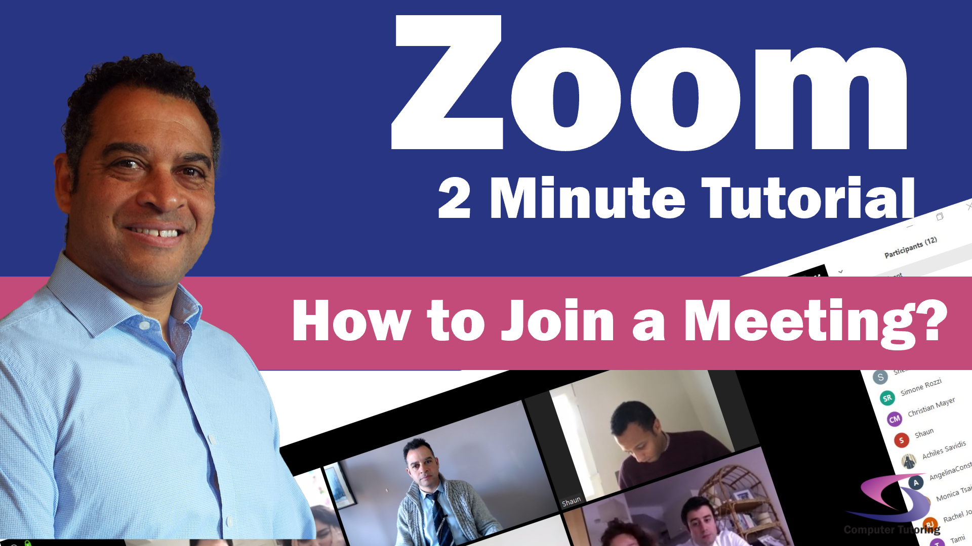 How to join a Zoom meeting?