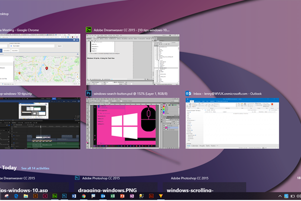 10 top tips for Windows 10