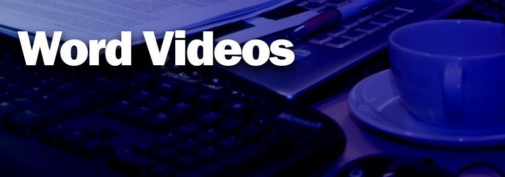 Word Video Training
